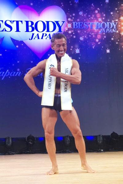 札幌大会でグランプリ